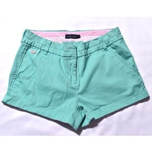 Pink and turquoise Southern Marsh shorts!